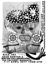 Nice try flyer A3 B&W